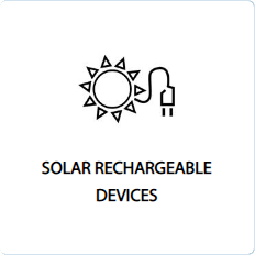 solar rechargeable