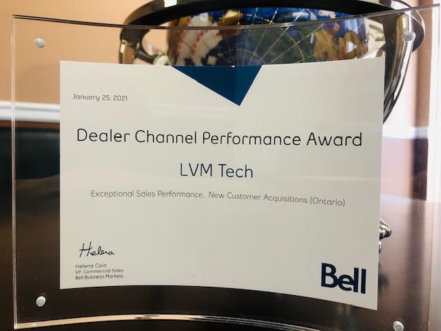 Bell performance award